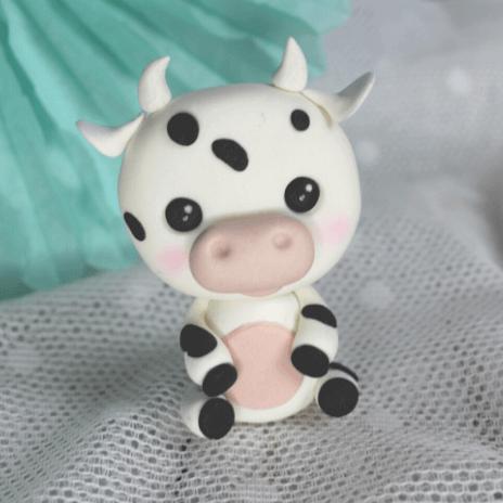 fondant cow tutorial Tutorial vaca de fondant