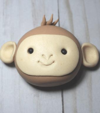 fondant monkey tutorial Tutorial mono