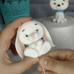 tutorial conejo fondant Tutorial conejo