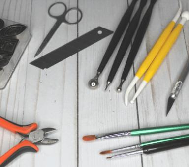 herramientas basicas para modelar fondant