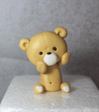 Tutorial osito de peluche tutorial osito fondant Teddy bear tutorial