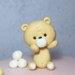 tutorial osito fondant Teddy bear tutorial