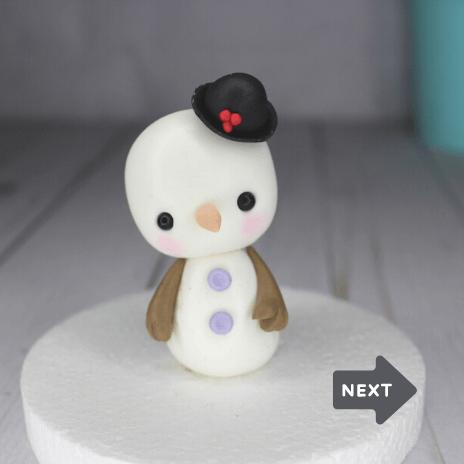 muñeco de nieve snowman